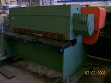 Cisaille guillotine 2000 x 4 mms